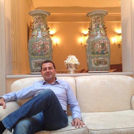 Hotel Corona d'Oro 1890: Relax in Bologna hotel Corona Doro Loby
