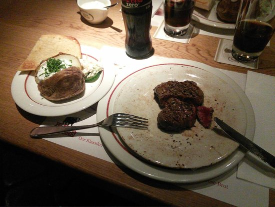 Block House Frankfurt-Westend: Huf steak