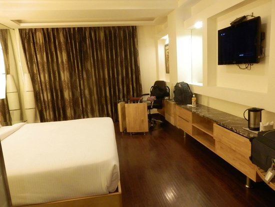 Hotel Saptagiri & ZO Rooms: Plenty of room