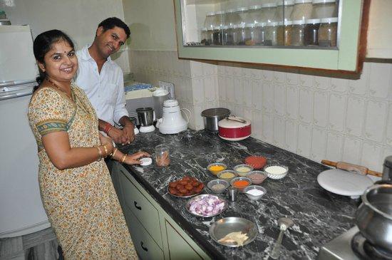 Vidya Villa: cours de cuisine