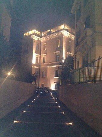 Villa Morgagni: Access to hotel