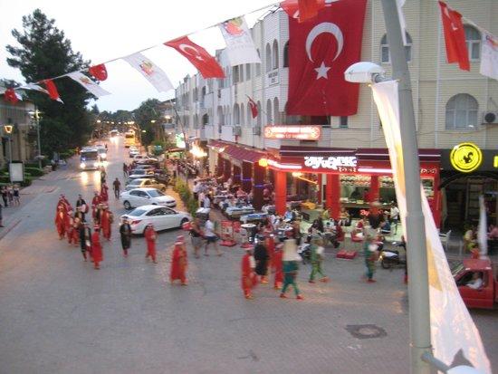 Arikan Inn: Вид из номера