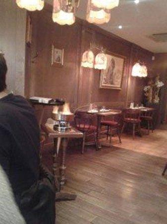 La Taverne de Maitre Kanter: pavé de boeuf flambé devant nous