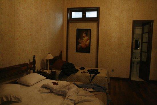 Capital Plaza Hotel: Il letto