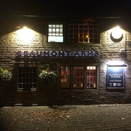 The Beaumont Arms: .
