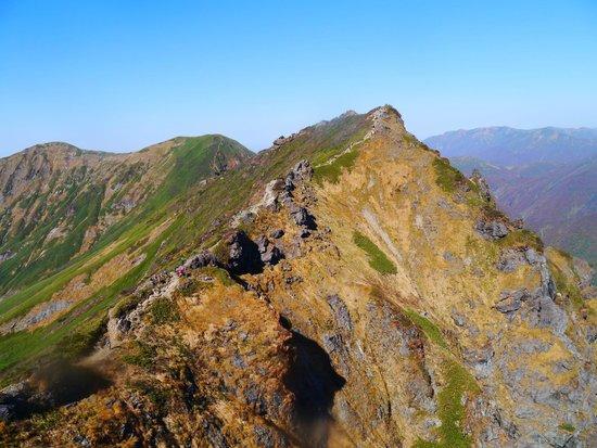 Tanigawadake: 山頂からの風景は絶景です。