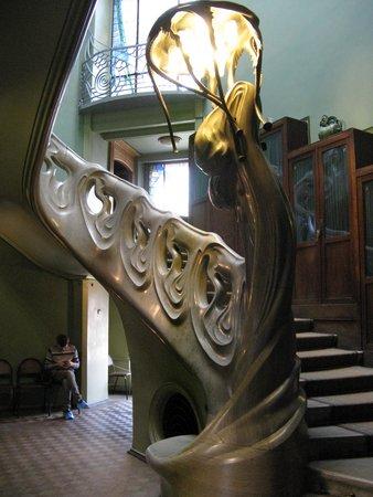 Gorky's House (Ryabushinsky Mansion) : Gorky House - staircase