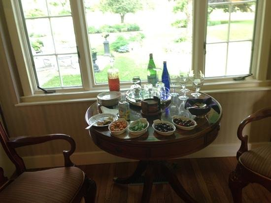 Starbuck Inn Bed and Breakfast: afternoon tea