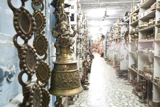 Brass Bell Picture Of Lalji Handicrafts Jodhpur Tripadvisor