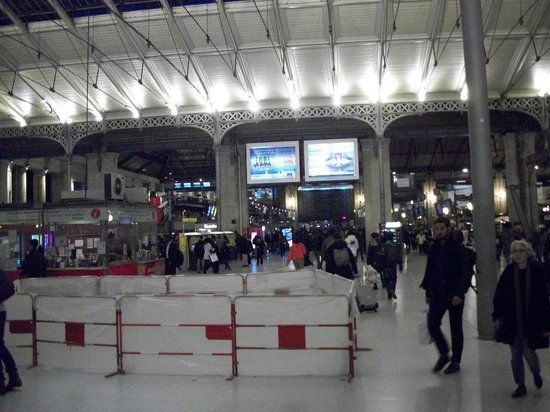 L 39 int rieur de la gare du nord picture of gare du nord for Interieur 306