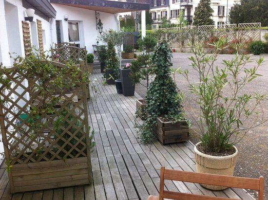 Le Clos du Saint-Quentin: Les terrasses