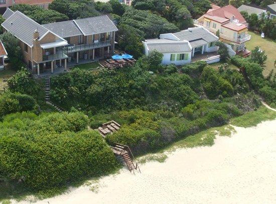 Sea Paradise is really on the beach