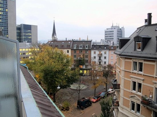 St. Georges: Blick vom Balkon