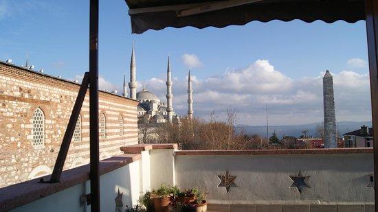 Hotel Turkoman: TERRACE