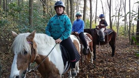 Holly Ridge Farm Equestrian Center: the kids had a great trail ride at Holly Ridge Farm 8 miles from Berlin MD