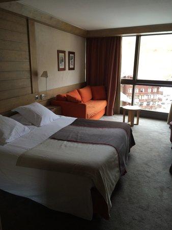 Hotel Le Ski d'Or : Notre chambre (36) avec vue sur la montagne