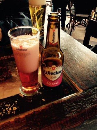 De Lunch: Cerveja de cereja deliciosa!