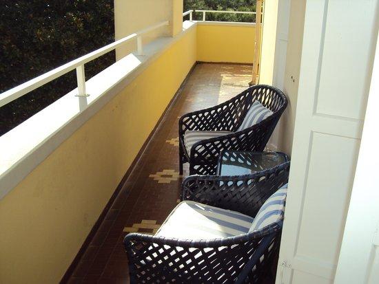 Hotel Villa Mabapa: la petite terrasse de la chambre