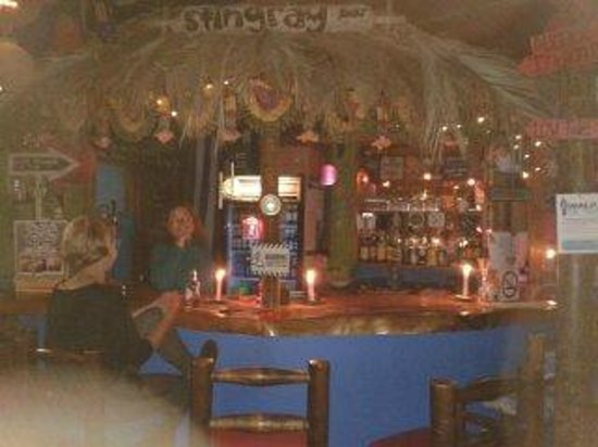Cape Agulhas Backpackers: bar/lounge area with good local beer :)