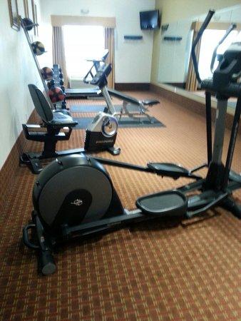 La Quinta Inn & Suites Deer Park: Gym
