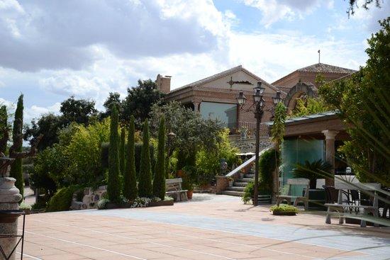 Vinedos Cigarral Santa Maria: En la terraza