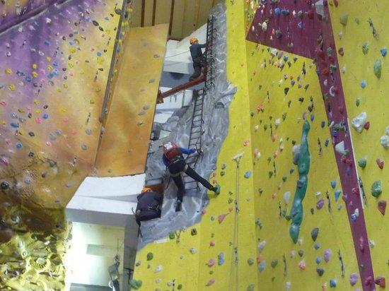 Lakeland Climbing Centre : onward and upwards