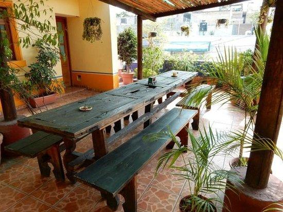 Casa Vilasanta: Rooftop terrace.
