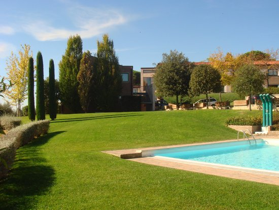 Sangallo Park Hotel: Lugar sossegado