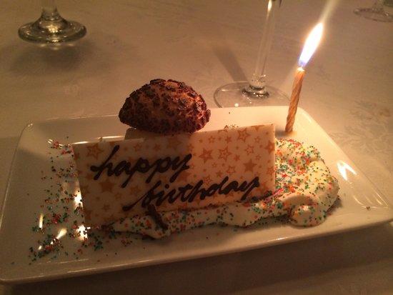Grill 23 & Bar: Happy Birthday !