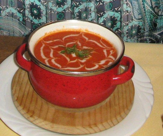 Hotel Restaurant am Markt: The Tomato Soup