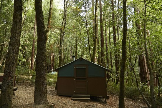 Big Basin Tent Cabins   UPDATED 2018 Campground Reviews (Boulder Creek, CA)    TripAdvisor