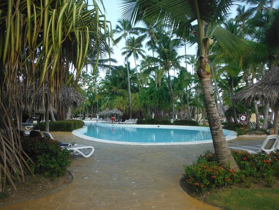 Melia Caribe Tropical All Inclusive Beach Golf Resort View Of The Pool
