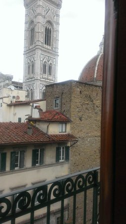 Hotel Medici: View from room 508