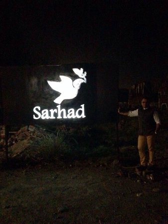 Sarhad : There it is