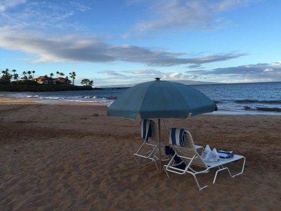 Wailea Beach: 7am look