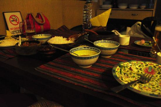 9'INE Native Cuisine: Native sikkimese meal