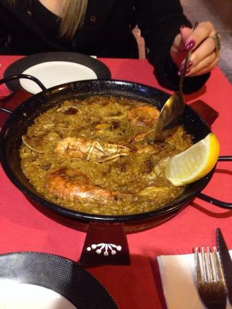 La Carboneria: Paella deliciosa de frutos do mar!!! Imperdível!!!
