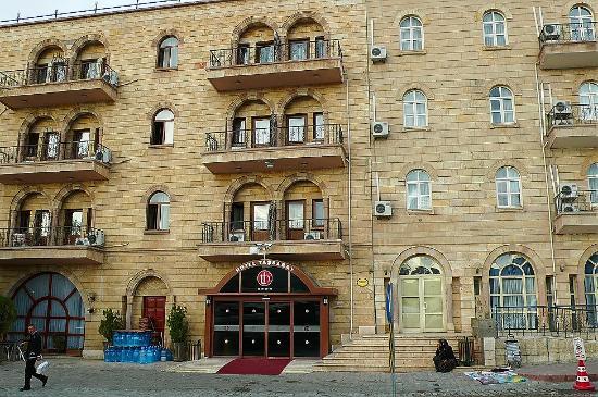 Tas Saray Hotel: Vera Hotel Tassaray, Urgup, Turchia: facciata