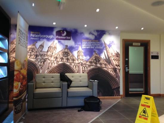 Premier Inn Peterborough (Hampton) Hotel: New reception