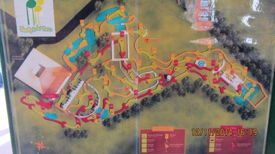 Family Golf Park: course map