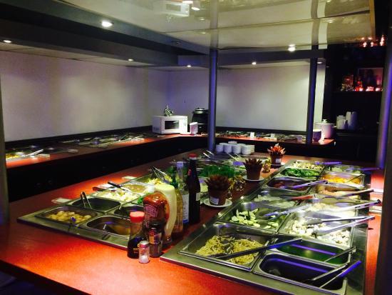 Chiang Mai : Le buffet