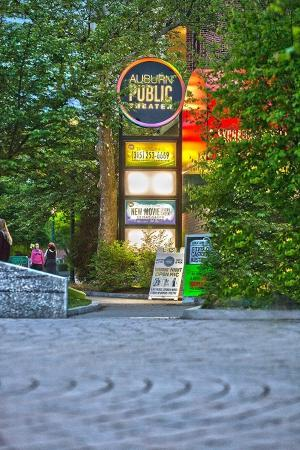 Auburn, NY: APT's entrance on Exchange Street