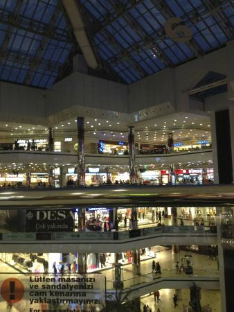 Istanbul Cevahir Mall : view