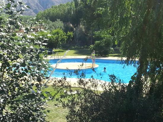 Cuevas La Chumbera: Zwembad
