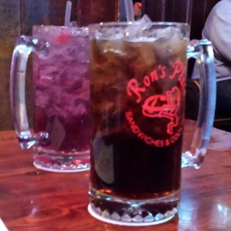 Ron's Place: The reason for a trip to Ron's: Their incredible selection of Long Islands.