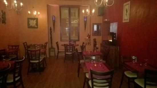 Teranga Bar Restaurant : la salle de restaurant