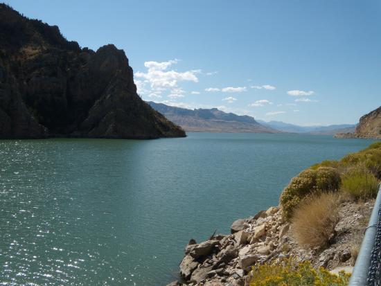 US Highway 16 : Shoshone Rive Reservoir