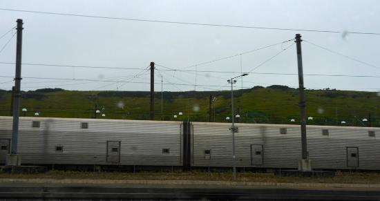 Train Cars Like Over Sized Subway Cars Picture Of Eurotunnel Le