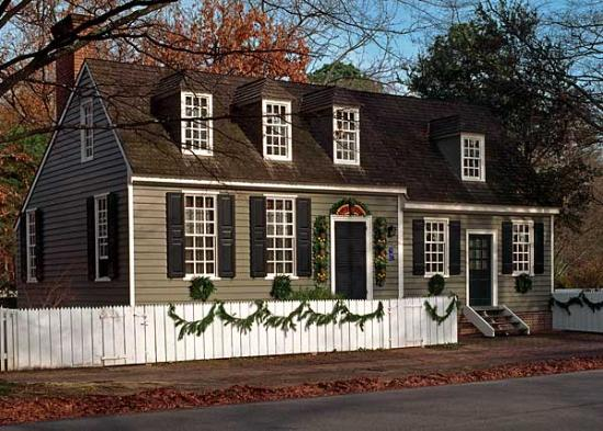 Colonial Houses-Colonial Williamsburg: George Jackson House