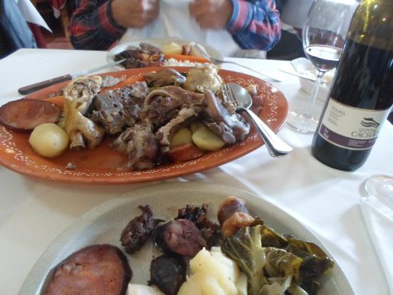 Restaurante Sabores: Magnifico Cozido